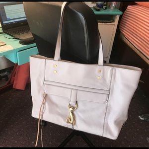 Rebecca Minkoff handbag color called putty